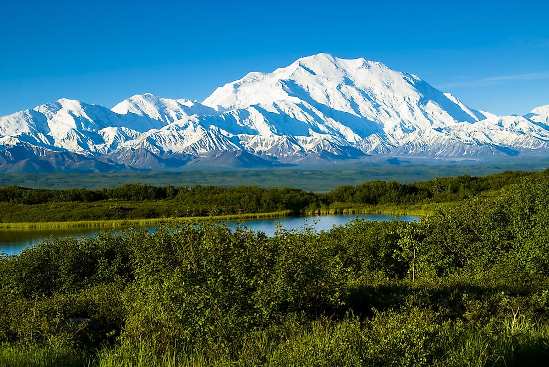 The Tallest Mountains In The United States