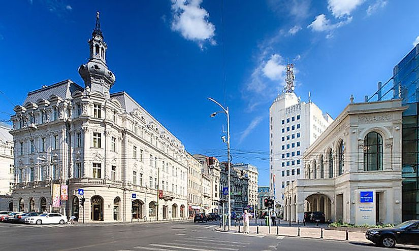 Biggest Cities In Romania