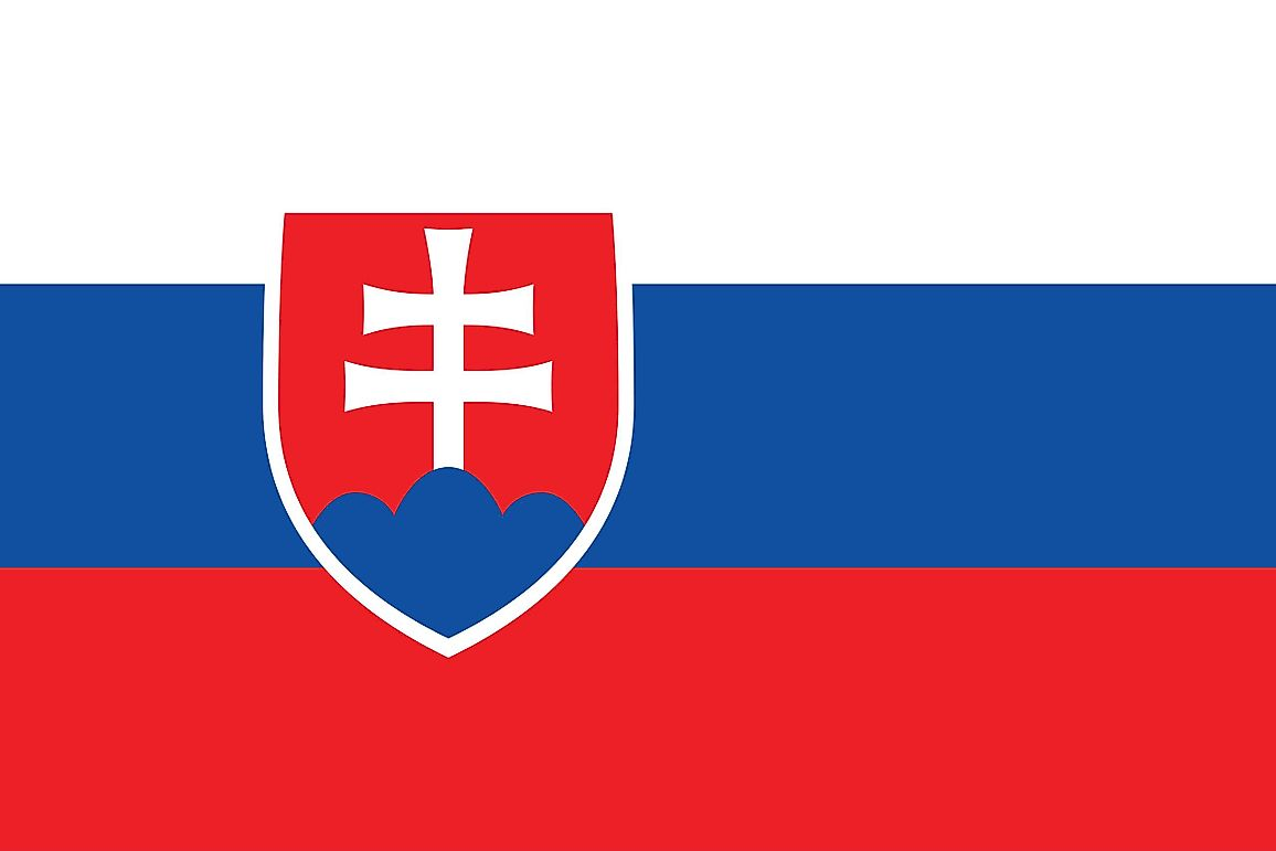 What Do The Colors And Symbols Of The Flag Of Slovakia Mean?