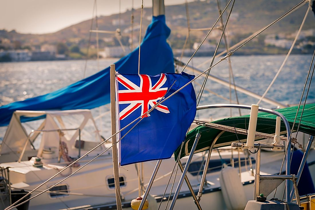 Which National Flags Are Based On The Blue Ensign?