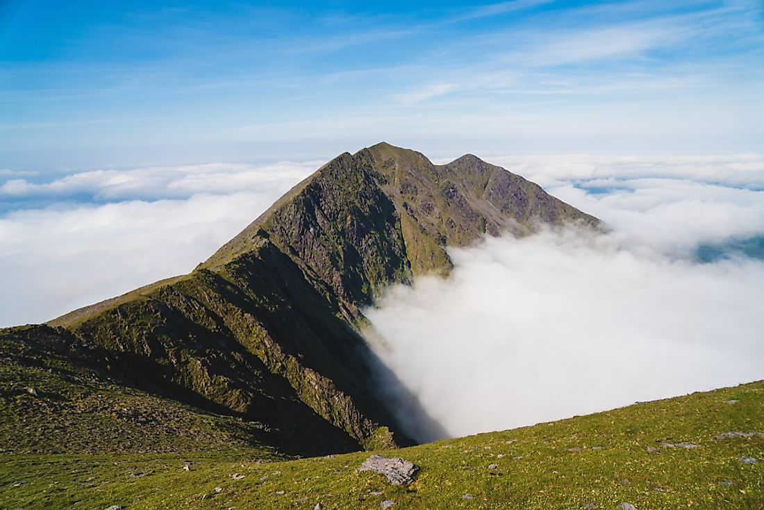 The Tallest Mountains In Ireland