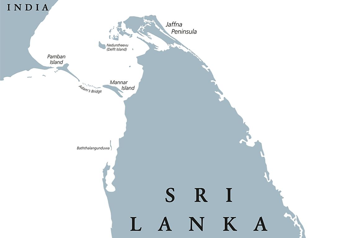 Where Is The Jaffna Peninsula?