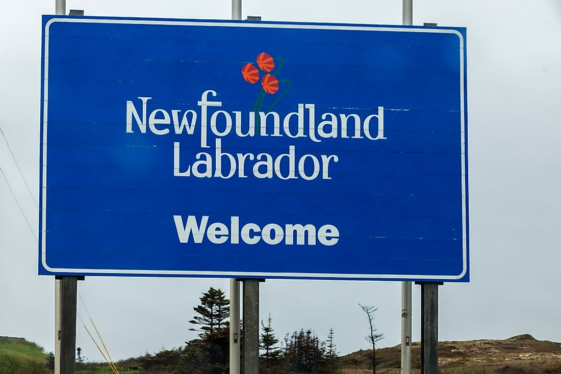 Which Provinces Border Newfoundland And Labrador?