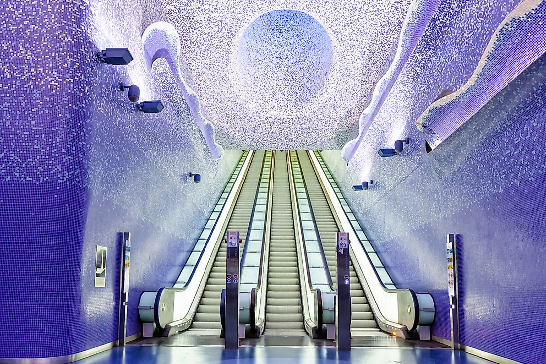 10 of the World's Most Interesting Subway Stations