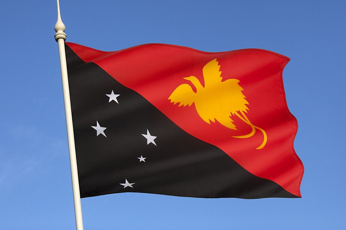 What Do The Colors And Symbols Of The Flag Of Papua New Guinea Mean?
