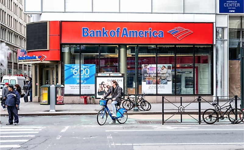 Where Is The Headquarters Of The Bank Of America Located?