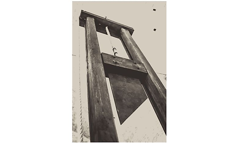 Did You Know That The Most Recent Execution By Guillotine In France Was In 1977?