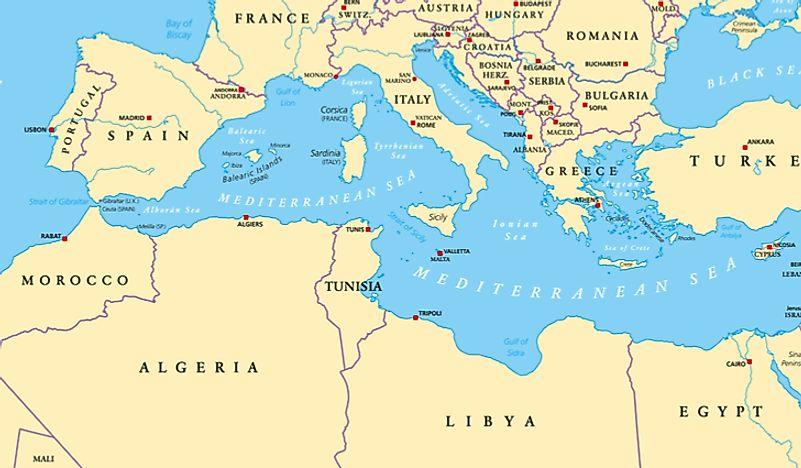 Countries of North Africa - WorldAtlas.com