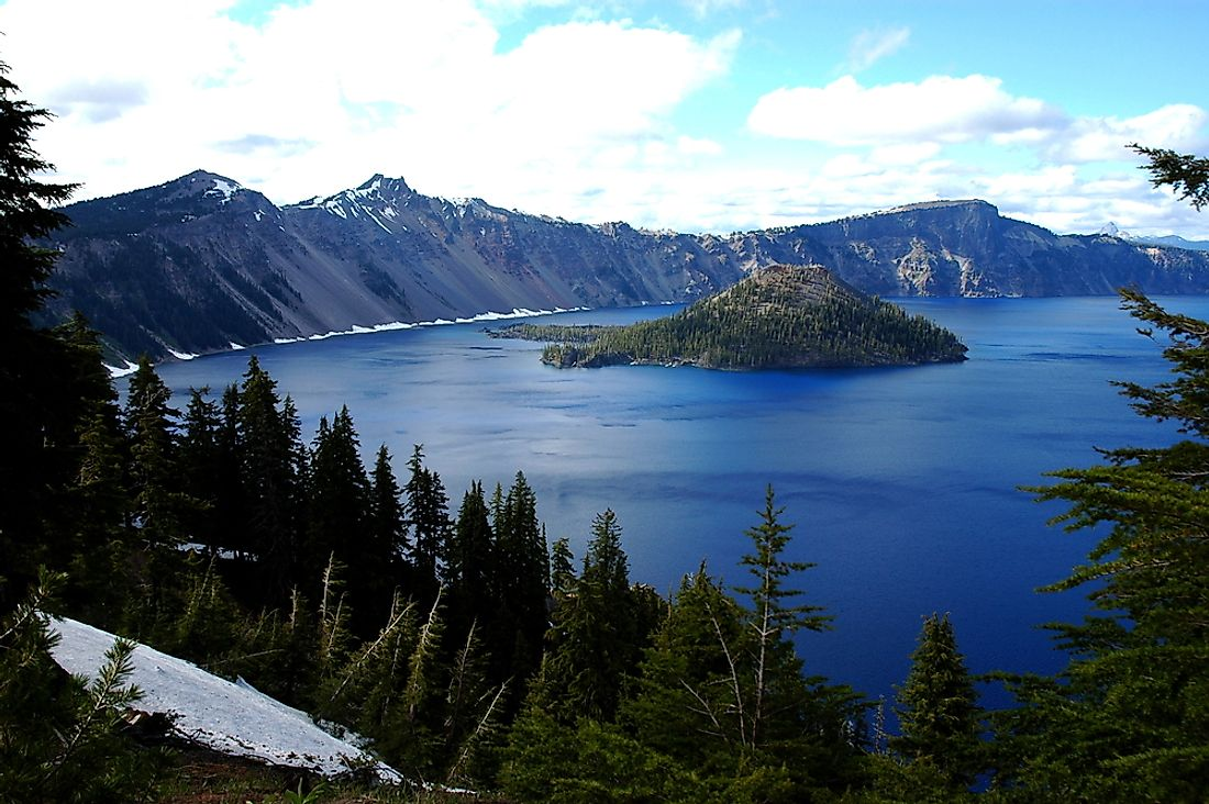 The Deepest Lakes in the US