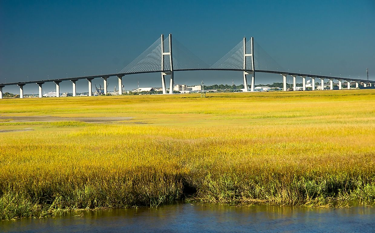 What are the Golden Isles of Georgia?