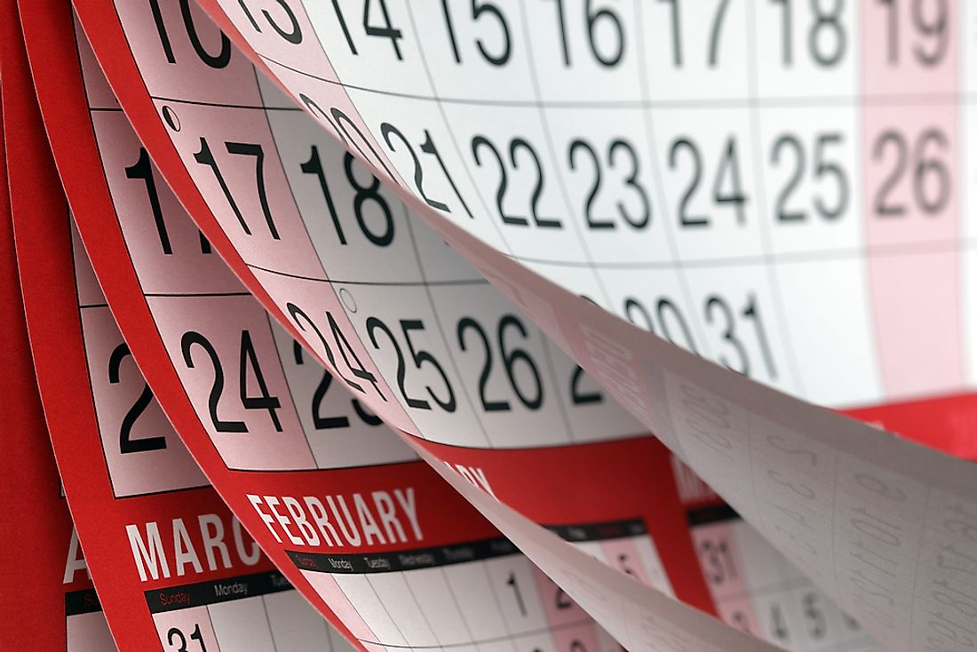 What Are The Calendar Months Named After?