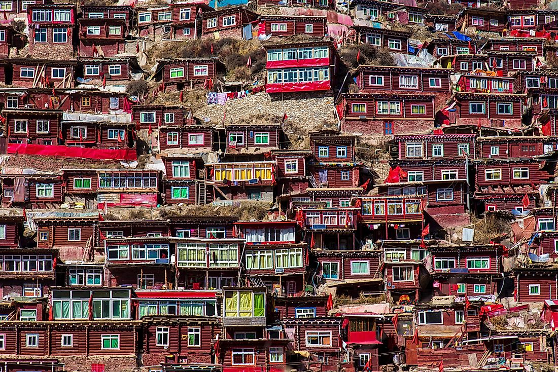 Larung Gar - Unique Places Around the World