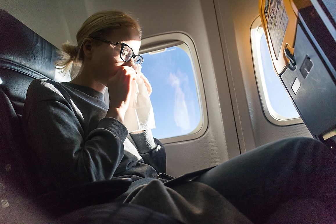 How To Avoid Getting Sick On The Plane