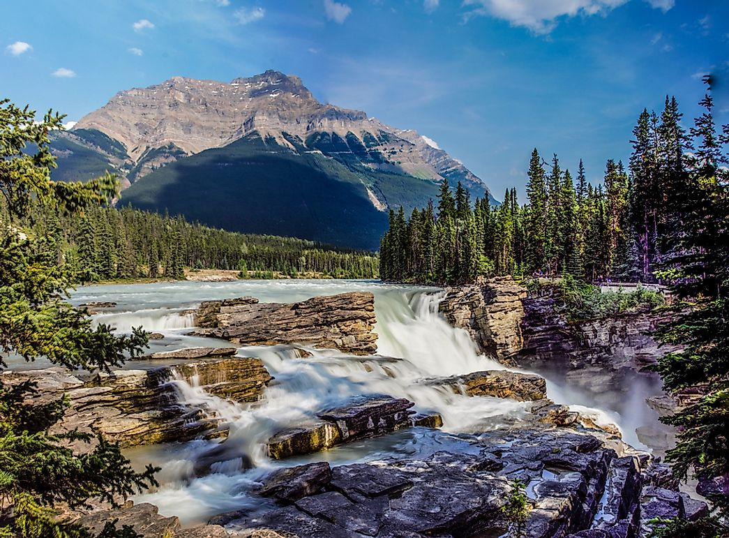 Athabasca Falls, Canada - Unique Places around the World