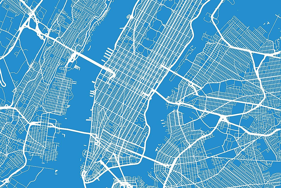 The Boroughs of New York City – NYC Boroughs Map ...
