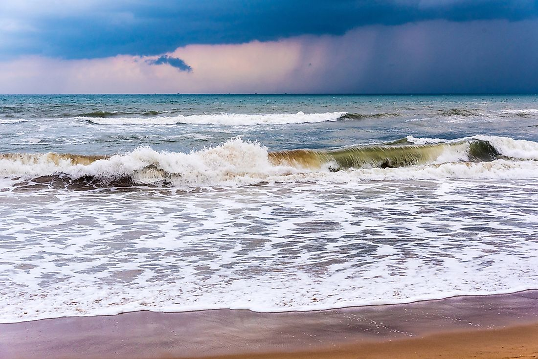 Where is the Bay of Bengal?