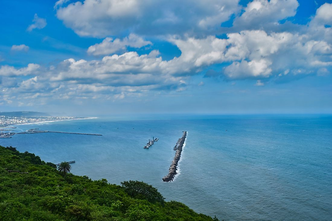 Which Countries Have Coastlines On The Bay Of Bengal?