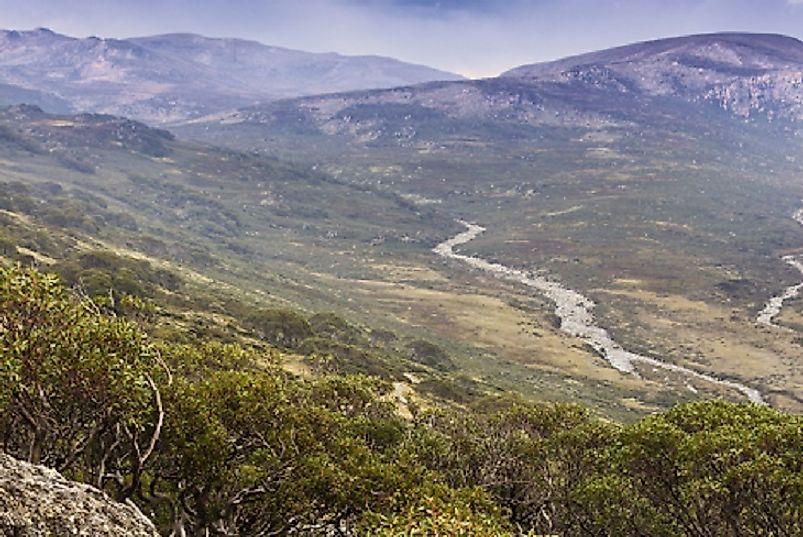Where Does Mount Kosciuszko Rise?