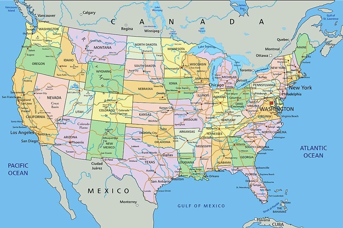 The Doubly Landlocked US States