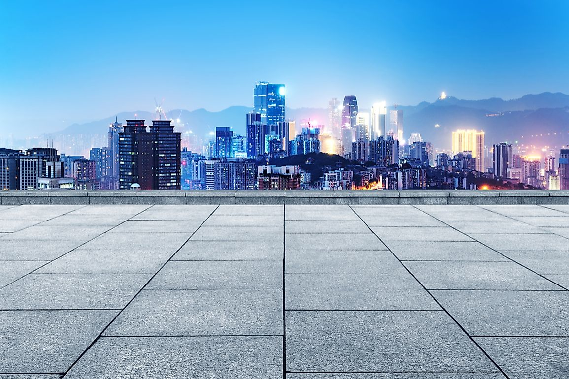 The Best Skylines in China