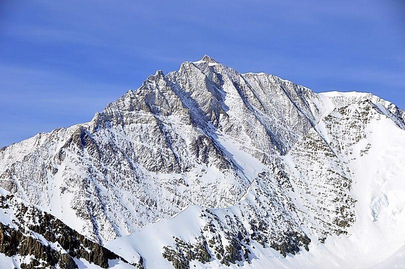 Where Does Mount Shinn Rise?
