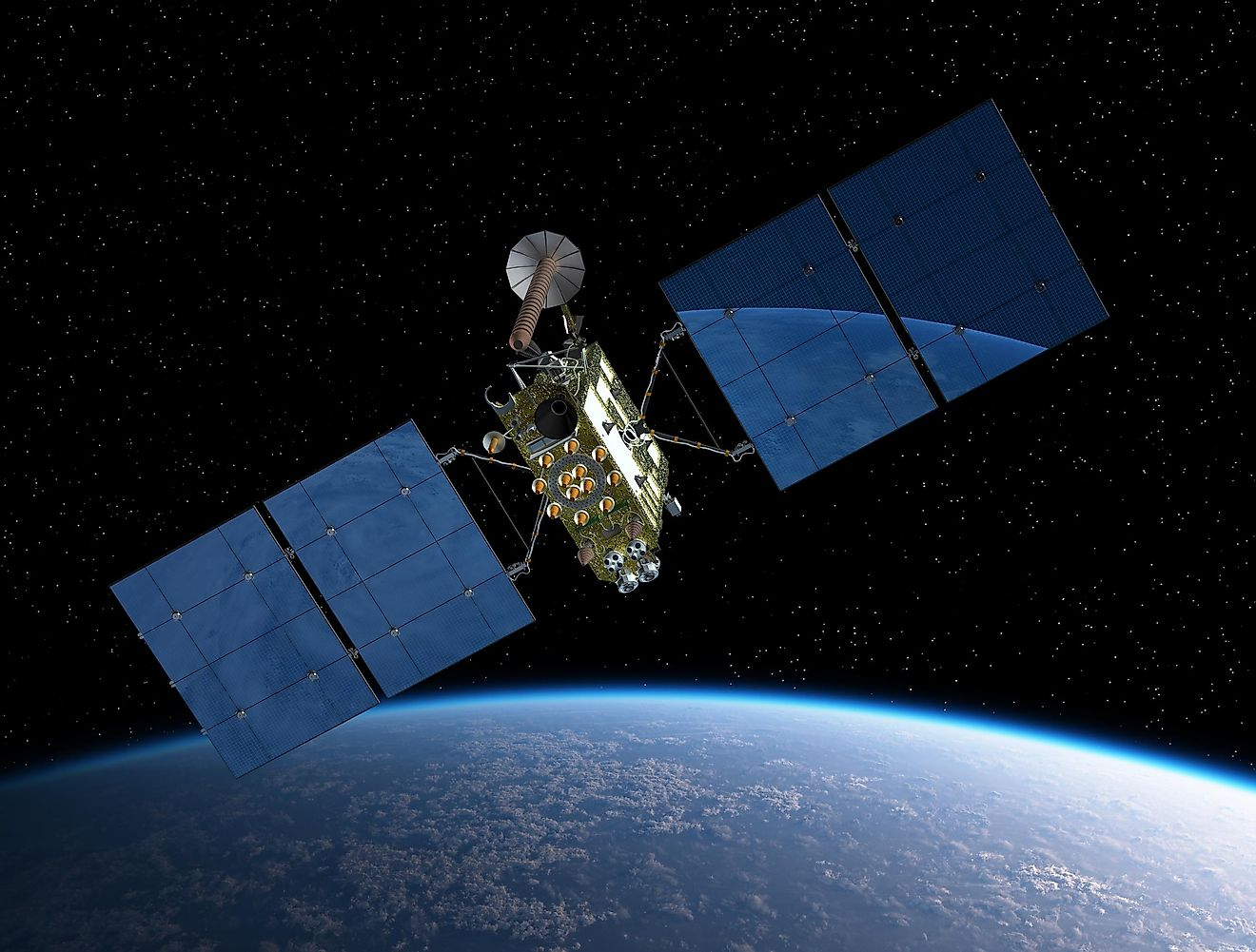 Where Do Artificial Satellites Orbit The Earth: In The Atmosphere Or Outer Space?