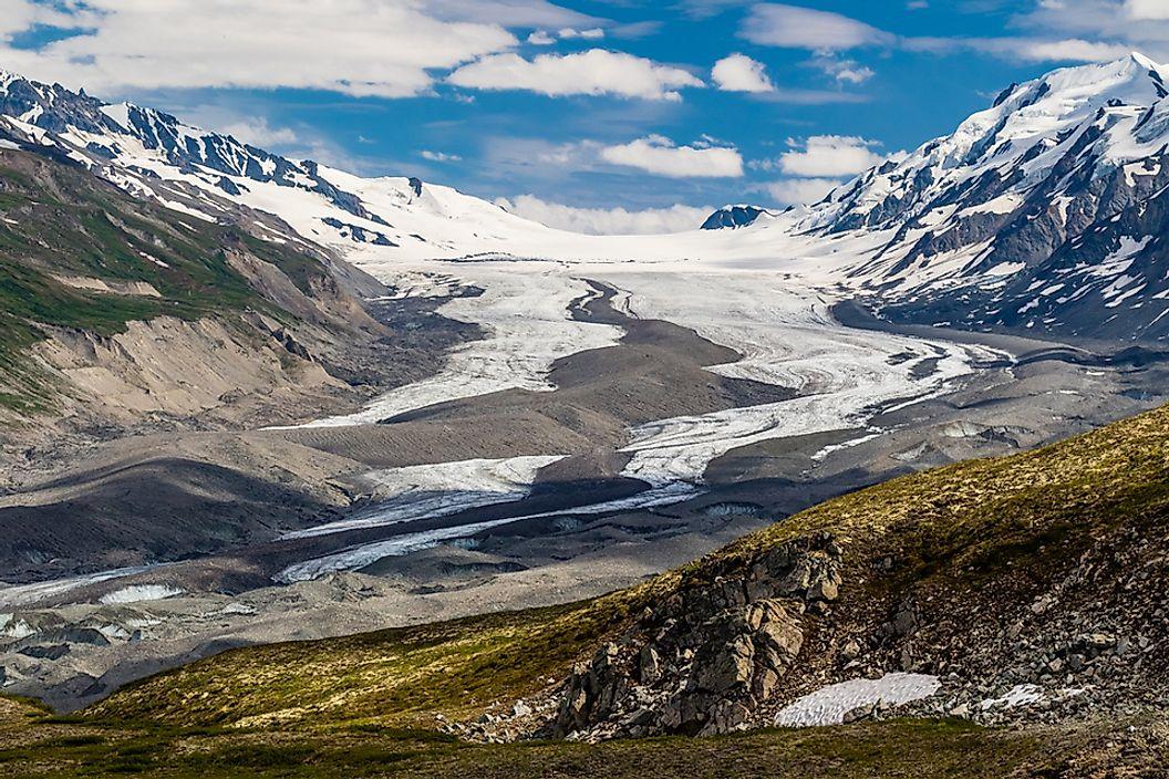 The Highest Peaks in the Alaska Range