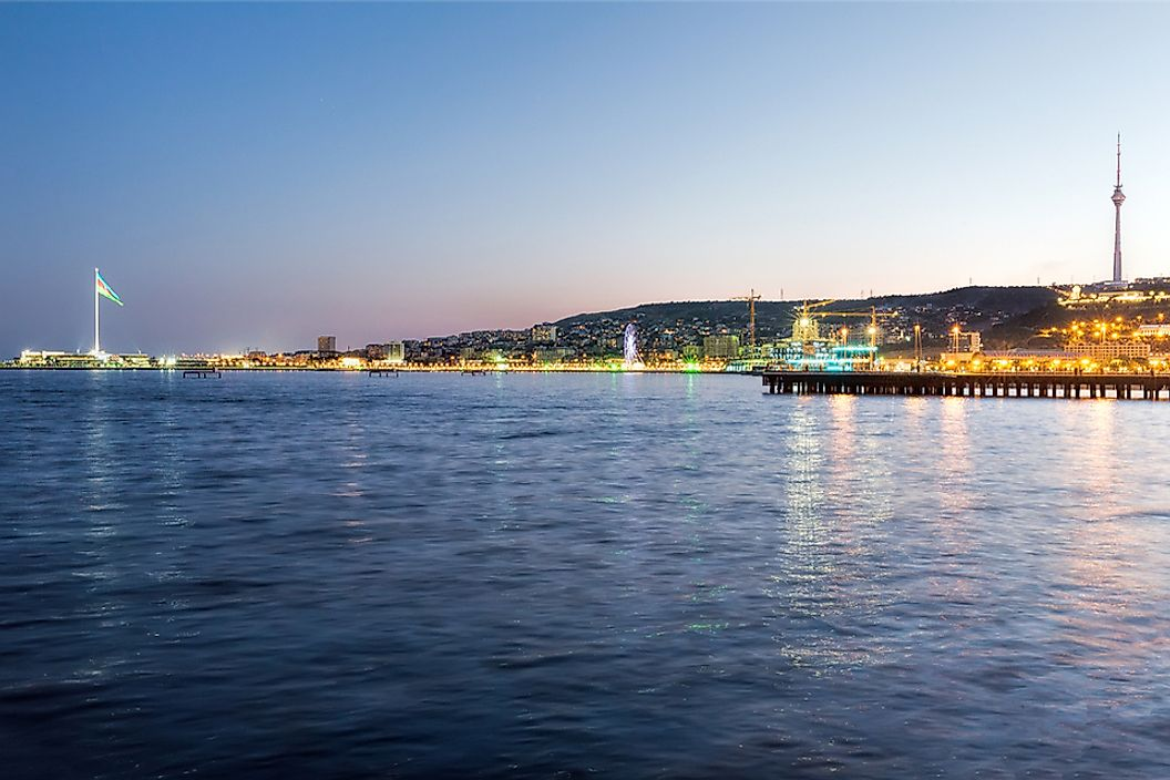 Which Countries Border the Caspian Sea?