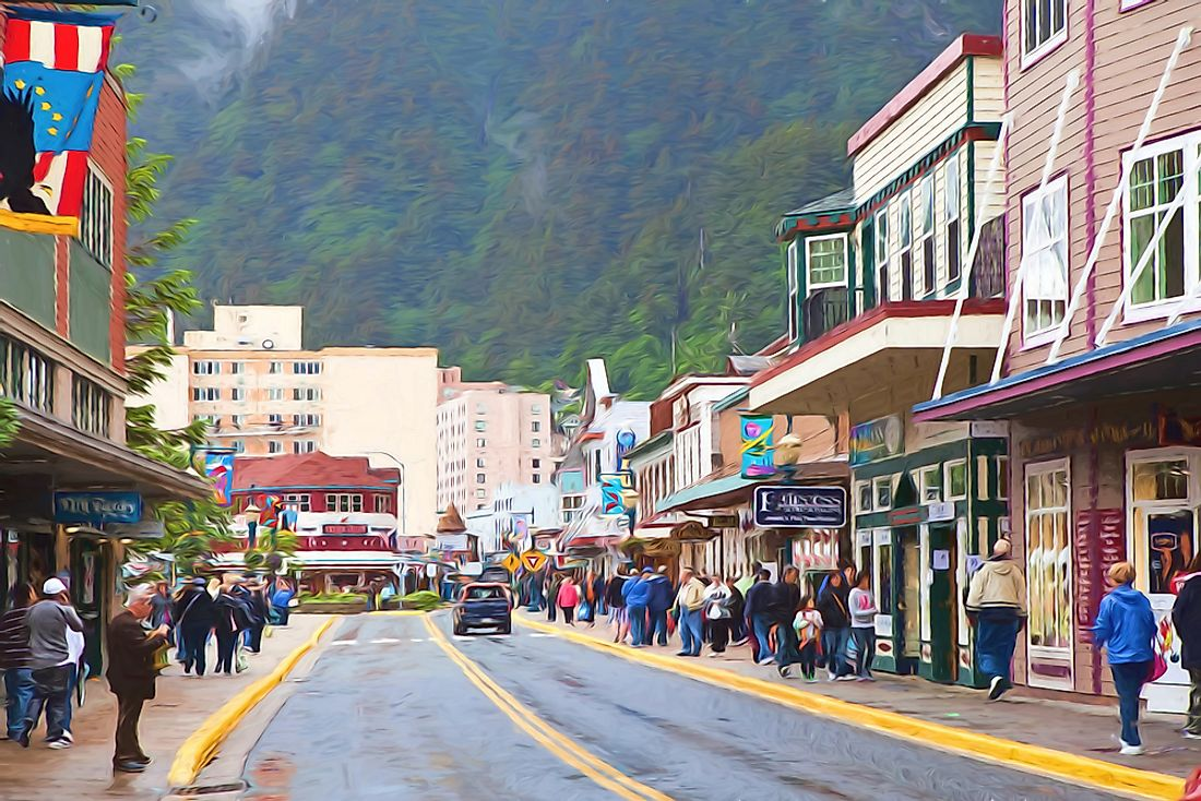 What Is the Capital of Alaska?