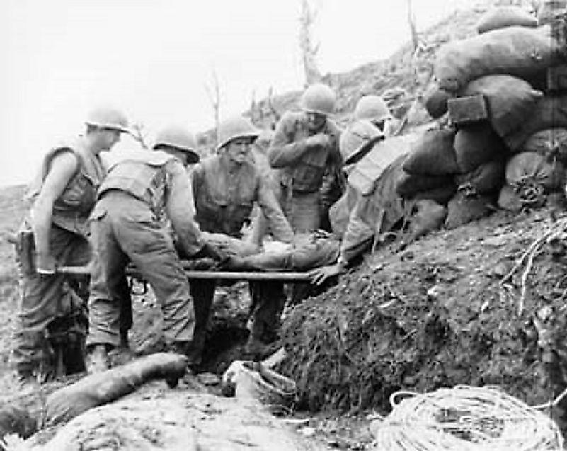 The Battles At Old Baldy - Korean War