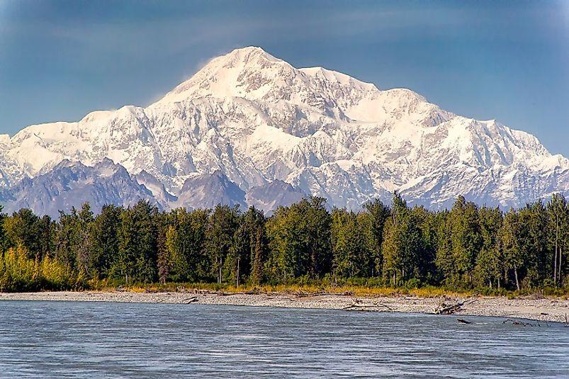 Where Does Denali (Mount McKinley) Rise?