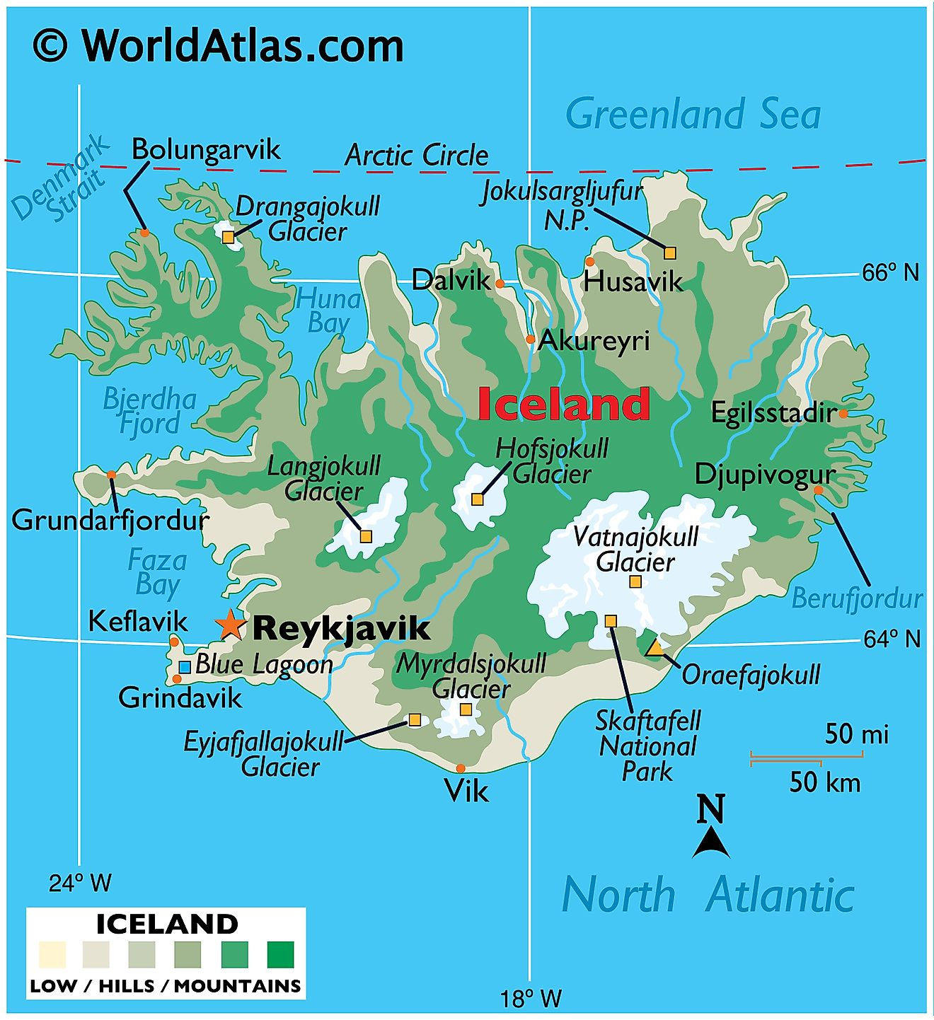 Iceland is Growing 5 Centimeters Per Year