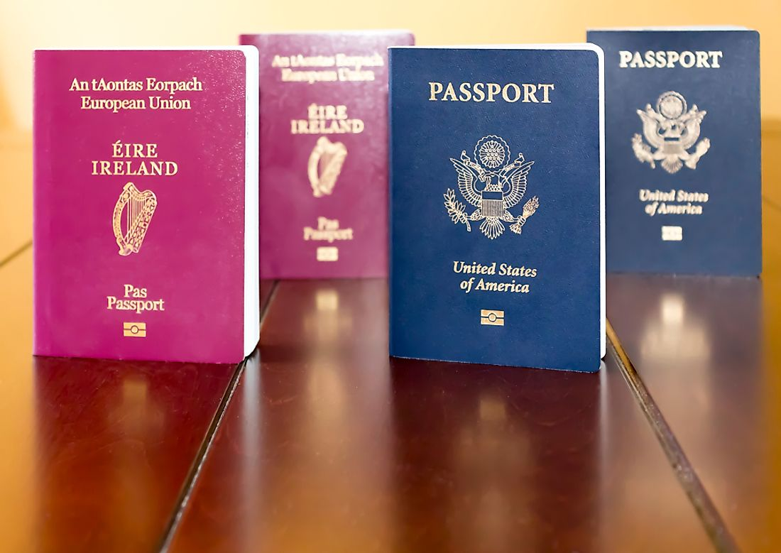 Some countries allow dual citizenship while others do not.