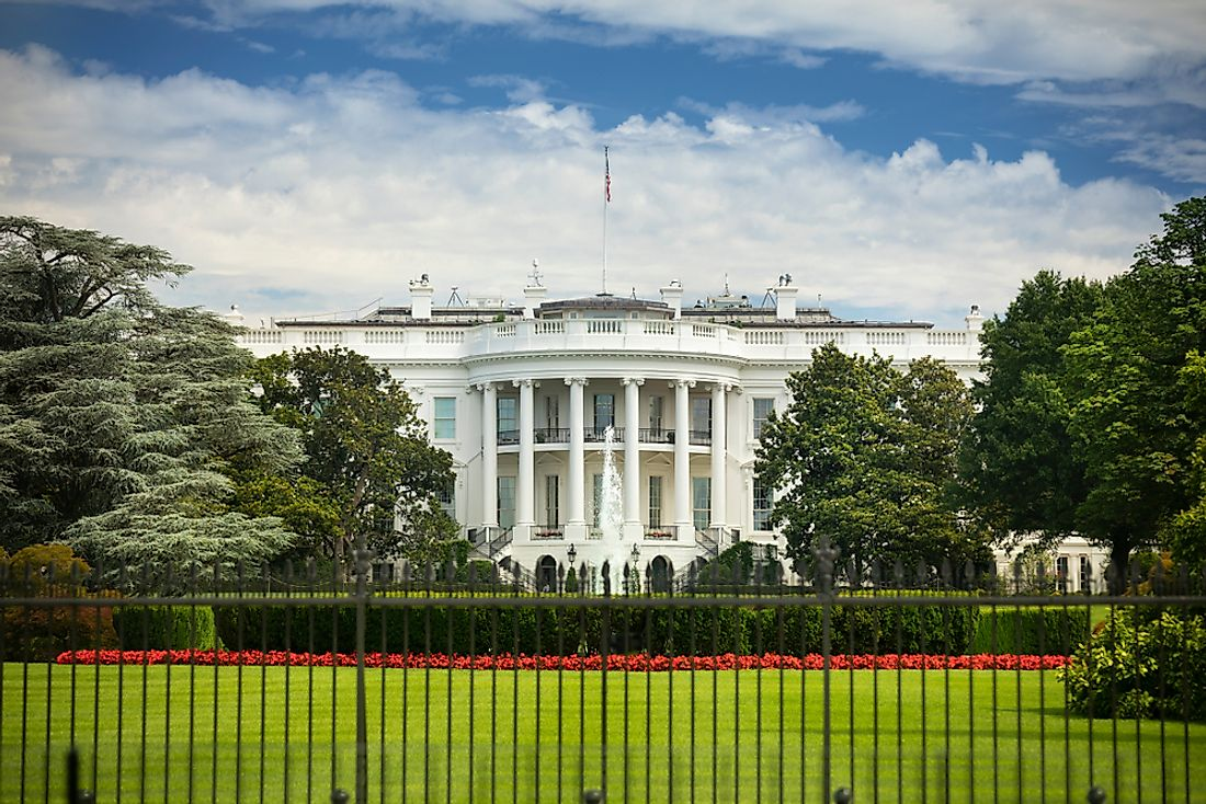 The White House is located at 1600 Pennsylvania Ave NW, in Washington, DC.