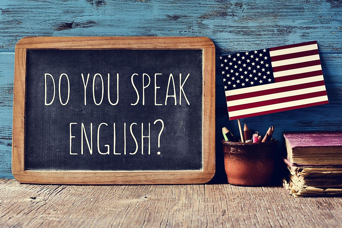 English is spoken by an overwhelming majority of Americans. Image credit: nito/Shutterstock