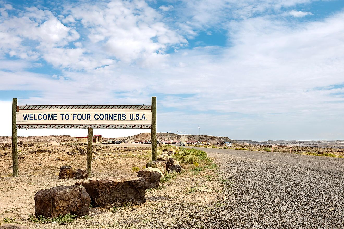 Four Corners, US.