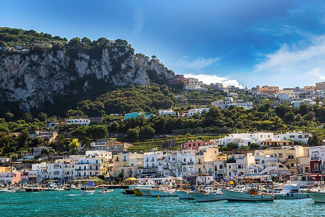 Capri island in Italy is one of the most amazing places to visit in the country.