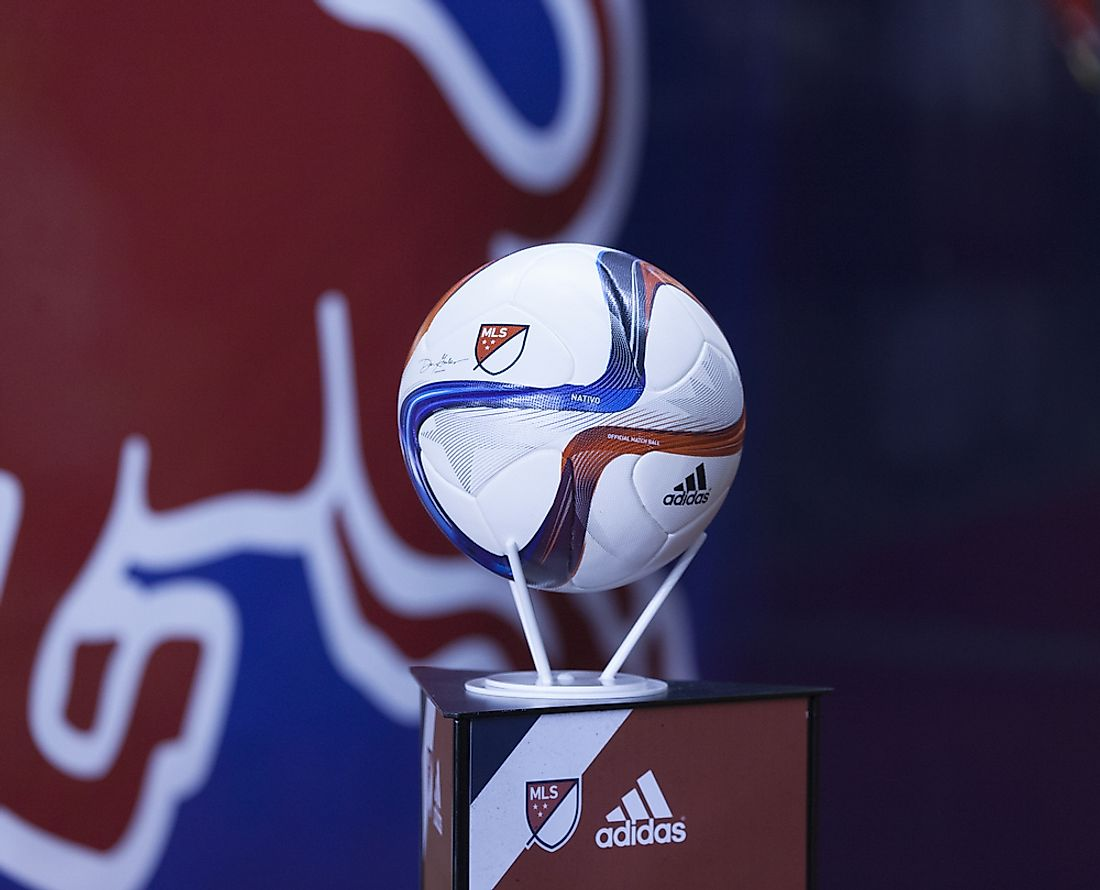 Major League Soccer was formed in 1995.  Editorial credit: lev radin / Shutterstock.com S M L  Size Guide