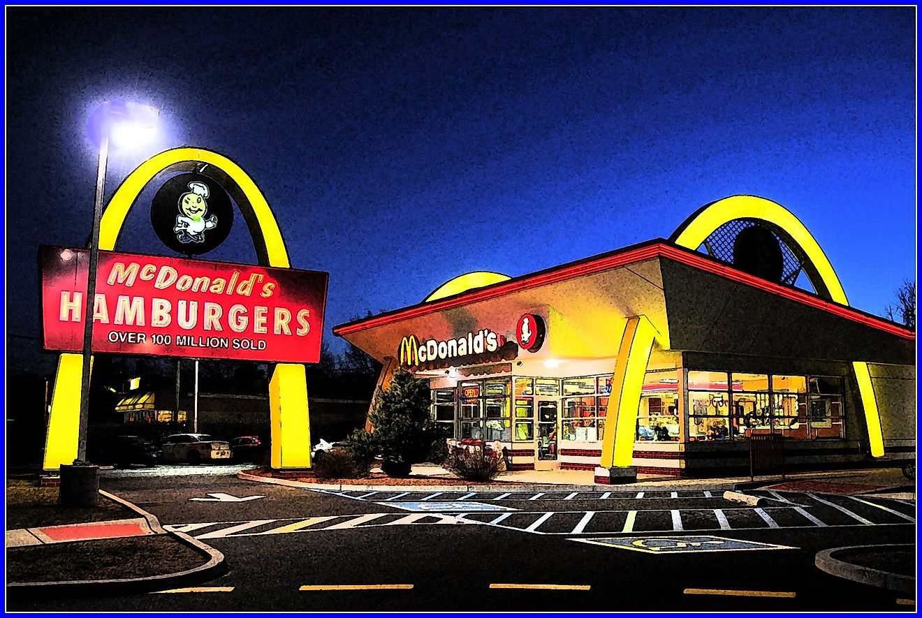 Mc Donald's is one of America's most popular fast-food chains. Image credit: Tony Fischer/Flickr.com