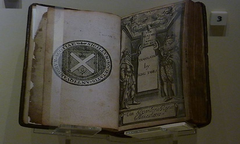 A Book of Psalms printed in the reign of James VI and I