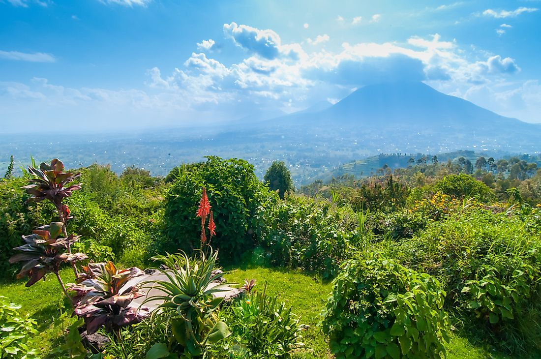 Rwanda is quite mountainous, with a temperate to subtropical climate.