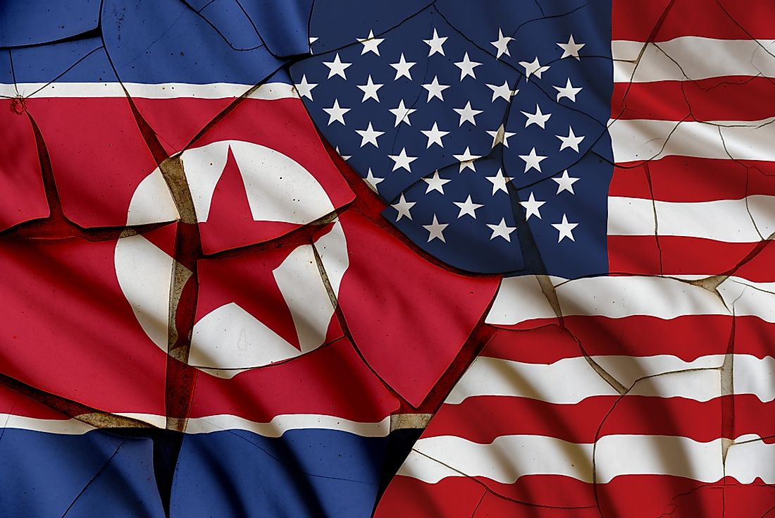 North Korean and American relations have long time been weak.