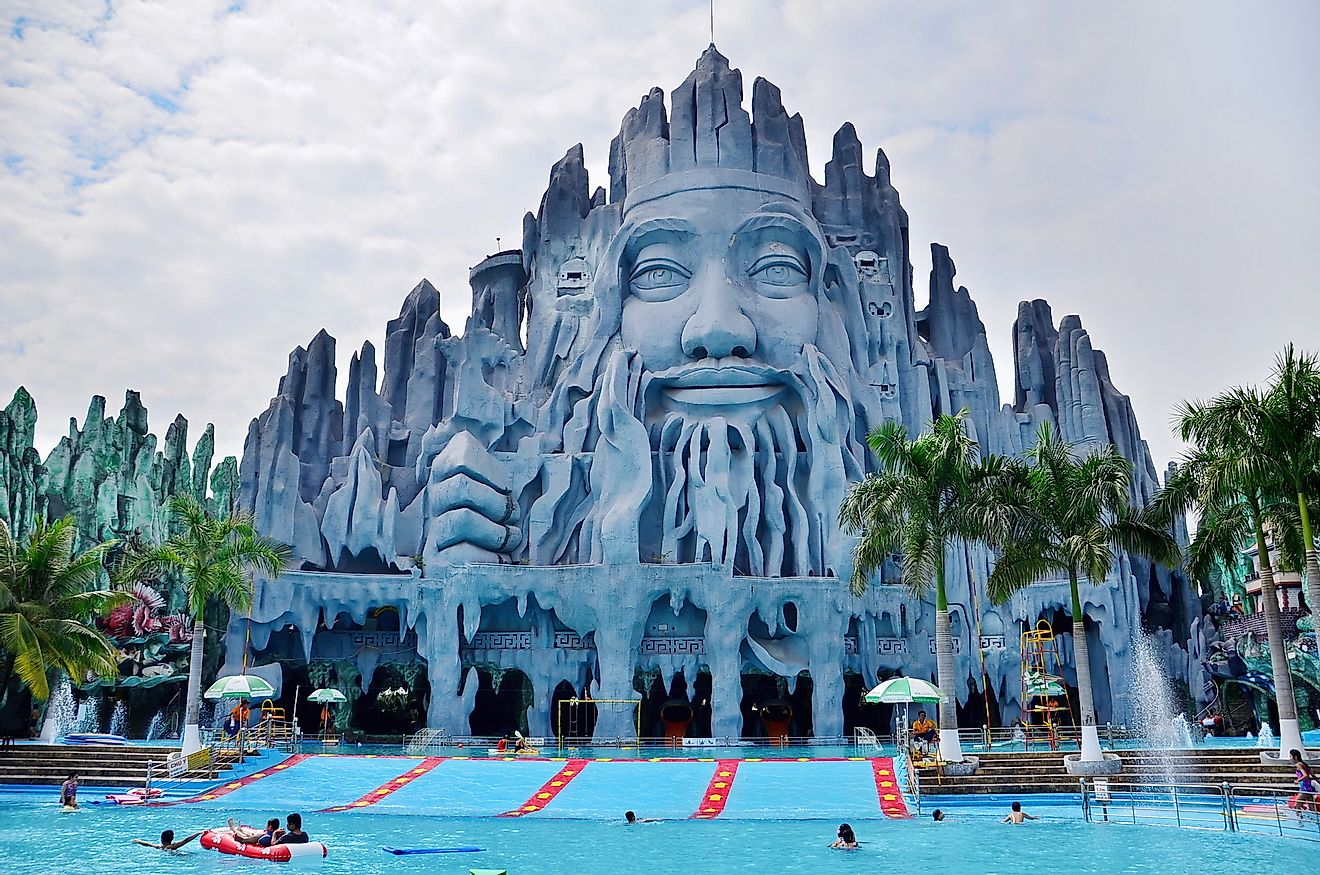 Suoi Tien Amusement Park at Ho Chi Minh City in Vietnam, Saigon. Image credit: iamtripper/Shutterstock.com