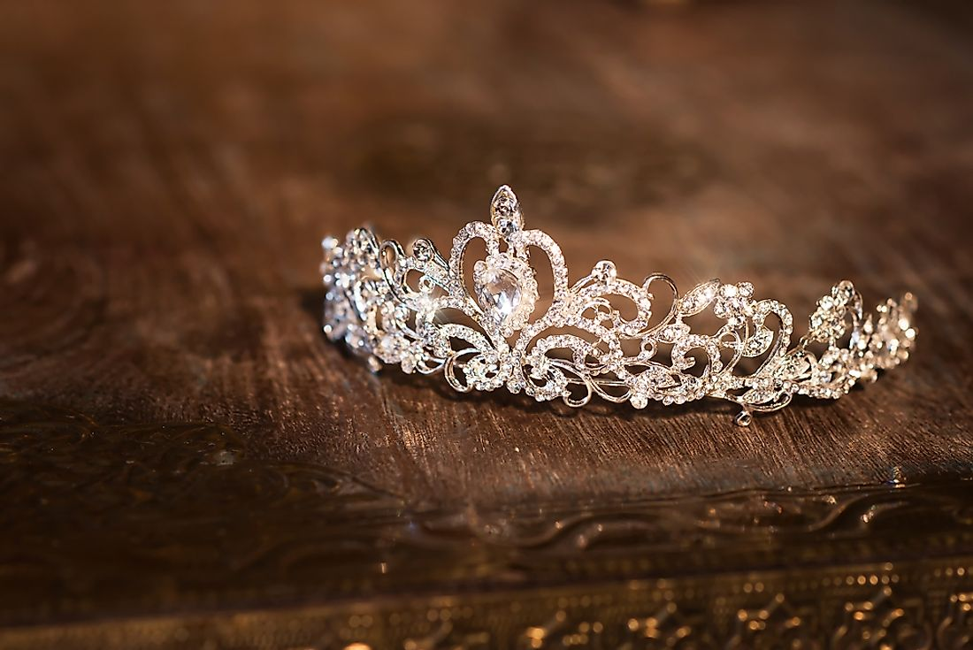 Only the winner of a beauty pageant gets to sport the coveted crown.