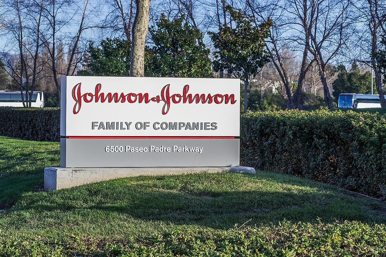 Johnson & Johnson. Image credit: Sundry Photography / Shutterstock.com