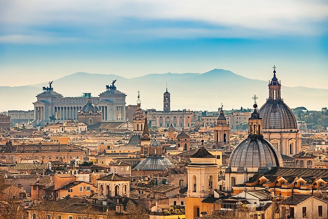 Rome is the largest city in Italy and a popular tourist destination.
