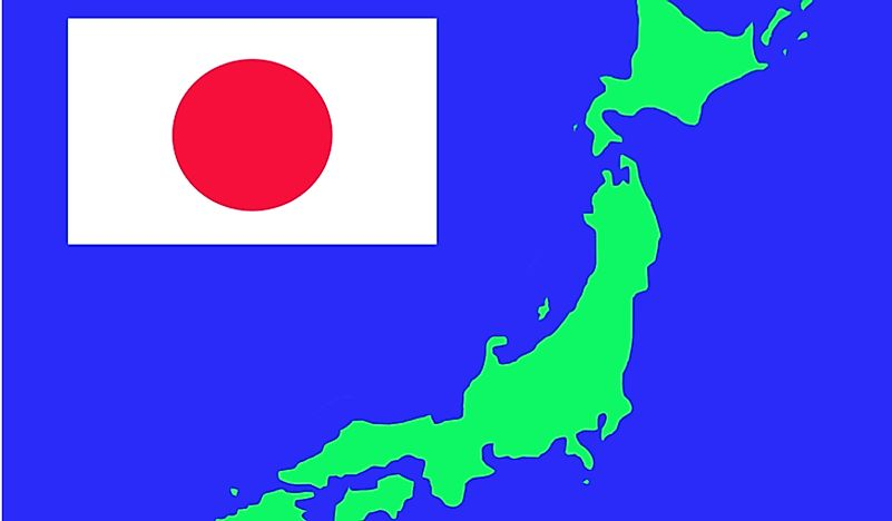 "Japan is often called ""land of the rising sun""."