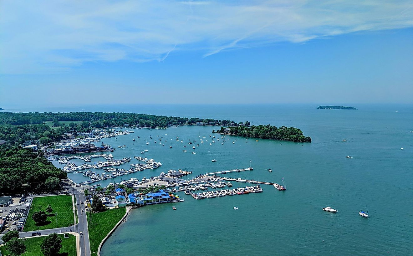 Put-in-Bay, South Bass Island, Ohio. Image credit: LukeandKarla.Travel/Shutterstock