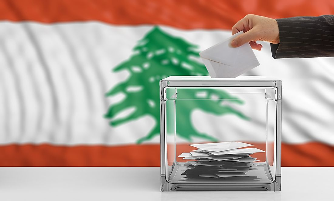 Lebanon is a parliamentary democratic republic.