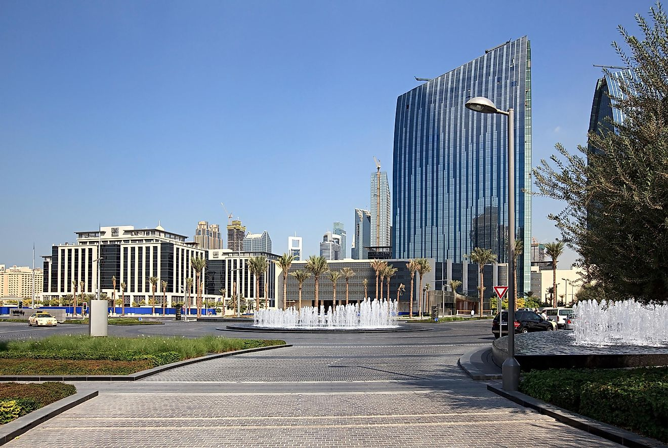 There are only two Armani hotels in the whole world. Credit: yykkaa / Shutterstock.com